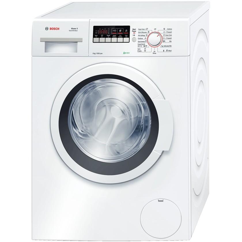 machine laver automatique bosch 8 kg blanc. Black Bedroom Furniture Sets. Home Design Ideas