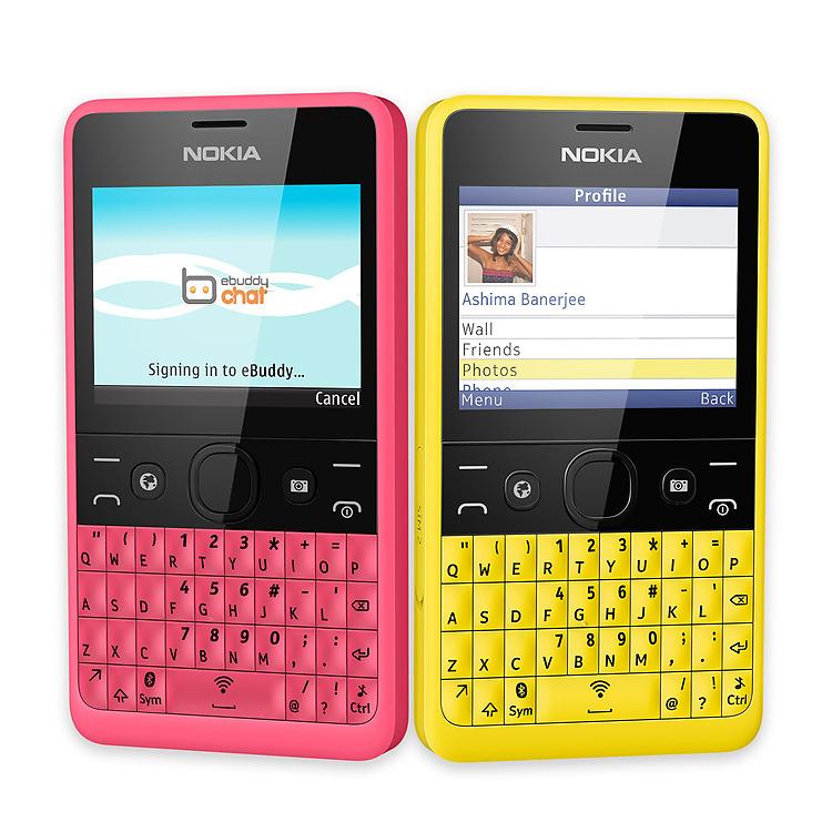 Téléphone Portable Nokia Asha 210 / Noir